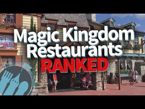 BEST TO WORST: Magic Kingdom Restaurants RANKED!