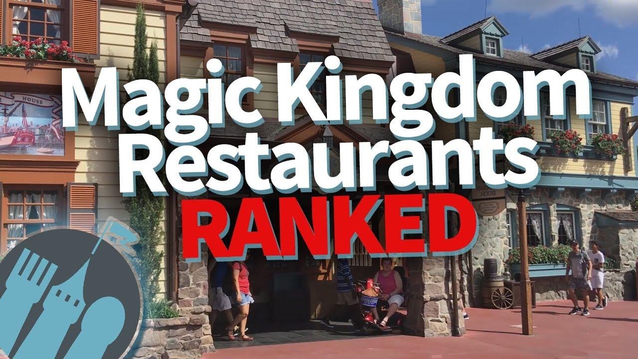 Best To Worst Magic Kingdom Restaurants Ranked