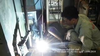 Xuất khẩu lao động Nhật bản, hình thi tuyển tay nghề hàn của Thực tập sinh