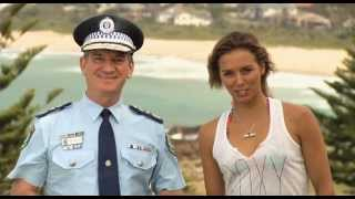 Play Safe Stay Safe - Sally Fitzgibbons talks with Commissioner Scipione