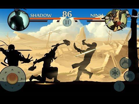 Мультик игра бой с тенью 2! Shadow Fight 2 игры драки супер файтинг турнир прохождение игры