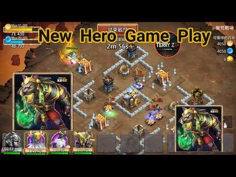 Castle Clash New Hero Game Play Taiwan Server