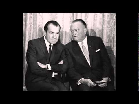 Mae Brussell: Richard Nixon, J. Edgar Hoover, Charles