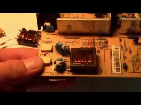 видео: Как проверить ccfl лампу подсветки матрицы. Простой инвертор