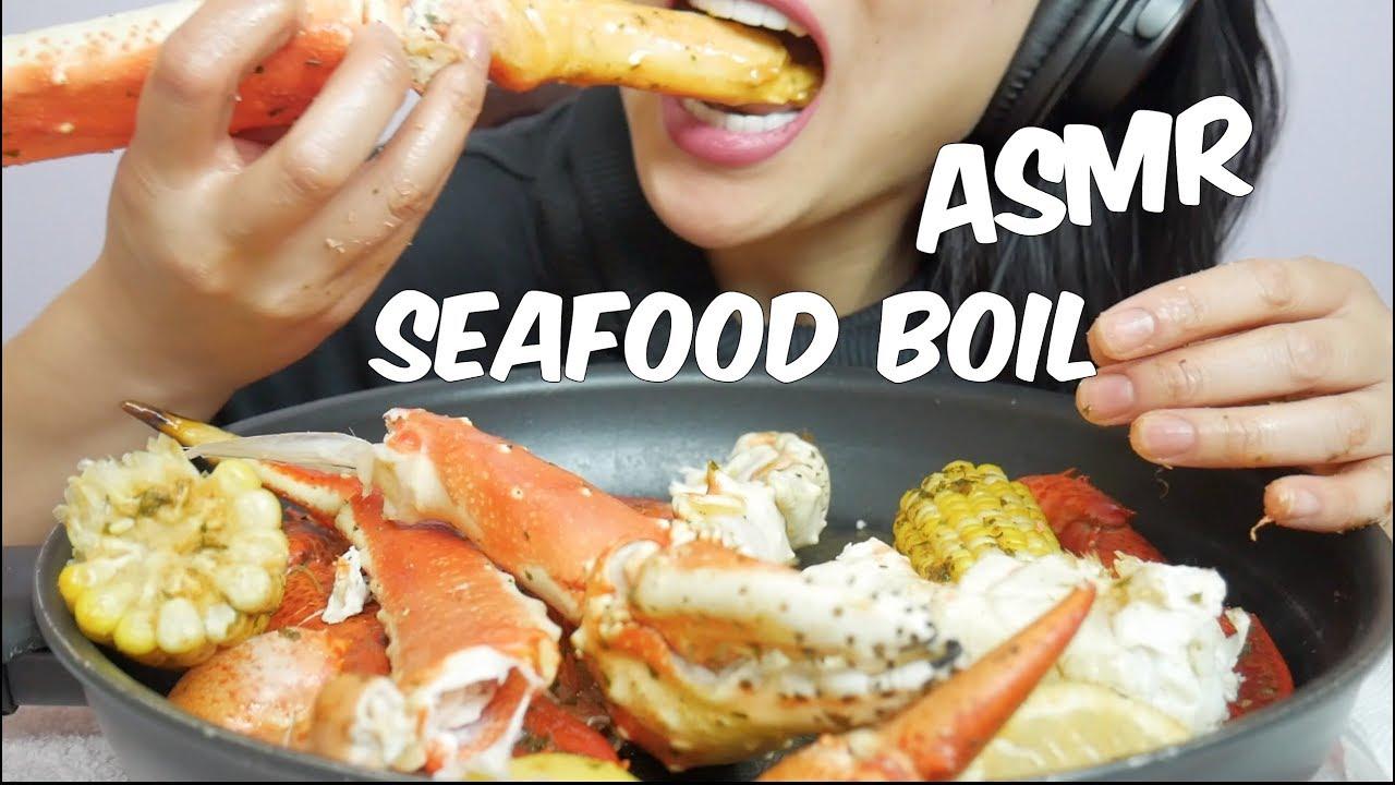 Asmr King Crab Lobster Claws Seafood Boil Eating Sounds Sas Asmr No Talking Youtube Asmr seafood boil with recipe king crab lobster octopus eating sounds no talking sas asmr. asmr king crab lobster claws seafood boil eating sounds sas asmr no talking