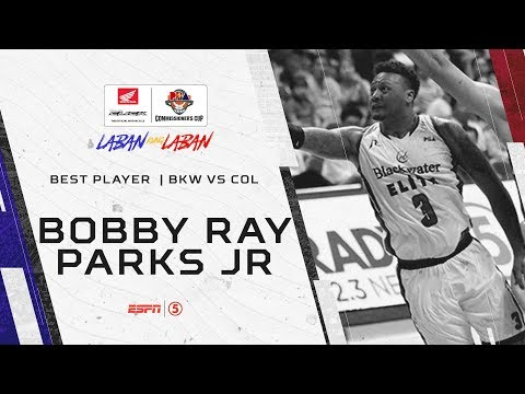 Best Player: Bobby Ray Parks Jr. | PBA Commissioner's Cup 2019