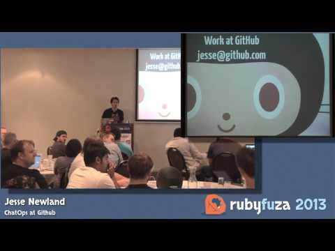 ChatOps at GitHub - Jesse Newland