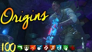 """🔥 """"ORIGINS"""" ROUND 100 ATTEMPT ROUNDS 50+ *LIVE* 🔥 (DLC 5 Zombies Gameplay)"""