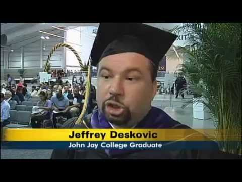 NY 1: Jeff Graduates With Masters Degree From The John Jay College Of Criminal Justice