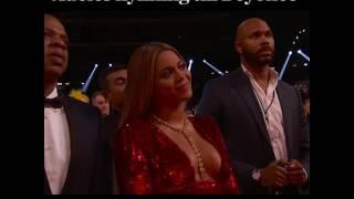 Adeles hyllning till Beyoncé på Grammygalan