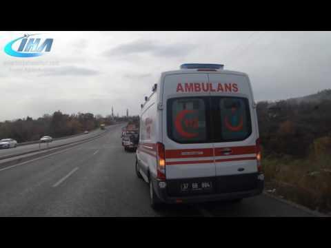 trafik kazasi tosya haberleri