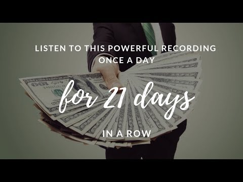 🎧Receive Unexpected Money IN 21 DAYS 💰 I AM Affirmations to Attract Wealth & Abundance!