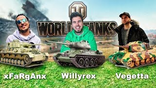 VEGETTA, WILLY Y FARGAN EN TANQUE!!