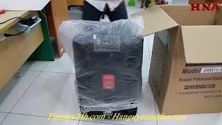 Khui thùng loa kéo JMW 1-15i | Loa kéo karaoke công suất lớn.