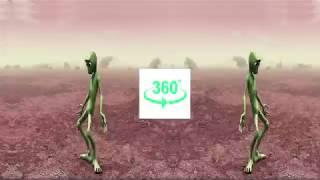 Dame Tu Cosita Green Alien Dance 360 VR Video
