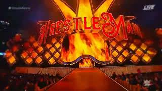 Wrestlemania 34 Finn Balor vs The Miz vs Seth Rollins