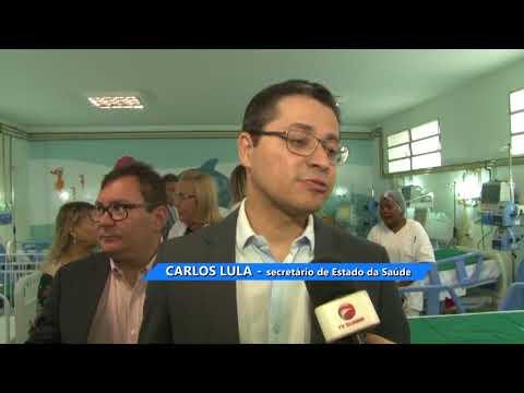 VDR 01/08/18 | ALA PEDIÁTRICA DE HOSPITAL NA VILA LUIZÃO AMPLIADA