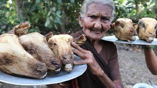 Lamb Head recipe - Yummy Goat Head CURRY FROM MASTANAMMA