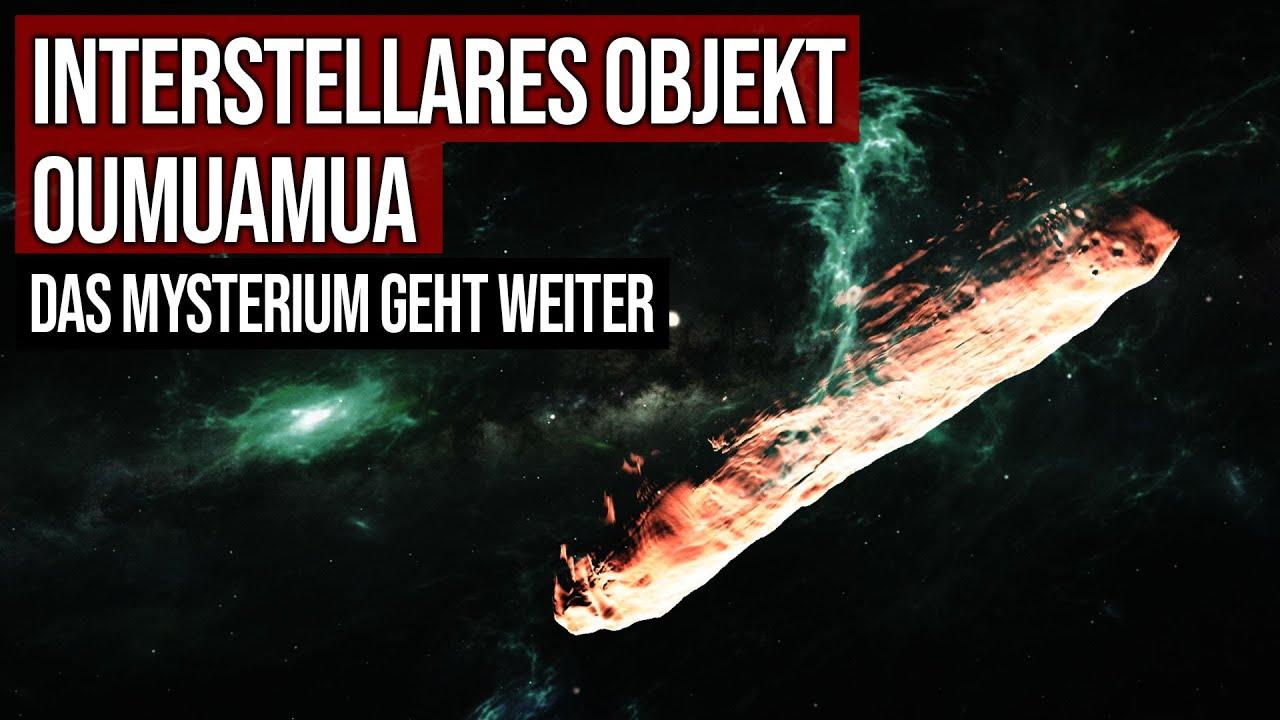 Interstellares Objekt Oumuamua - Das Mysterium geht weiter