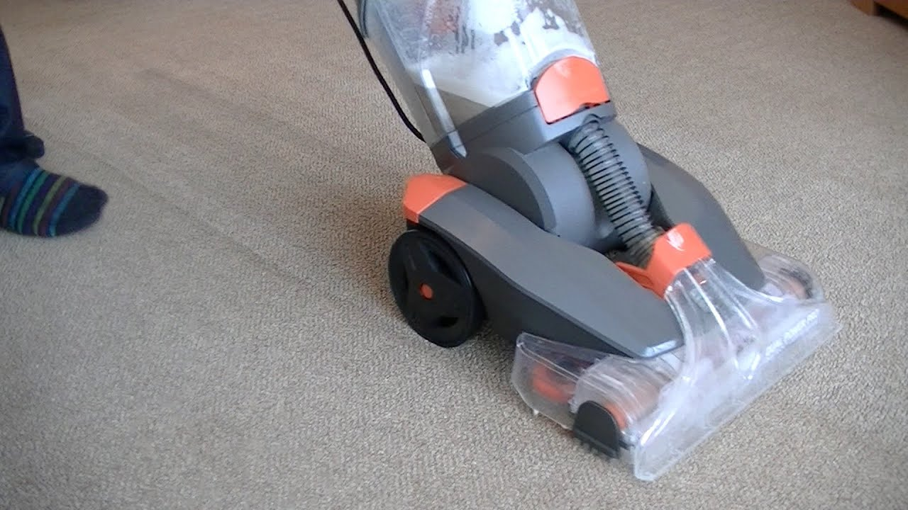 Vax Dual Power Pro Carpet Washer Demonstration & Review