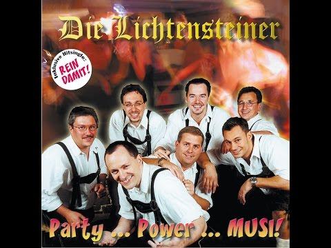 Die Lichtensteiner - Party, Power, Musi! (Blue Door Records Christian Lösch) [Full Album]