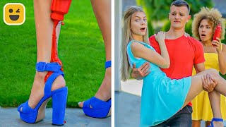 Genius Hacks for Lazy People! Funny Friends Prank Ideas by Mr Degree