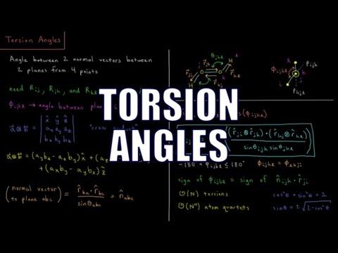 Computational Chemistry 1.9 - Torsion Angles
