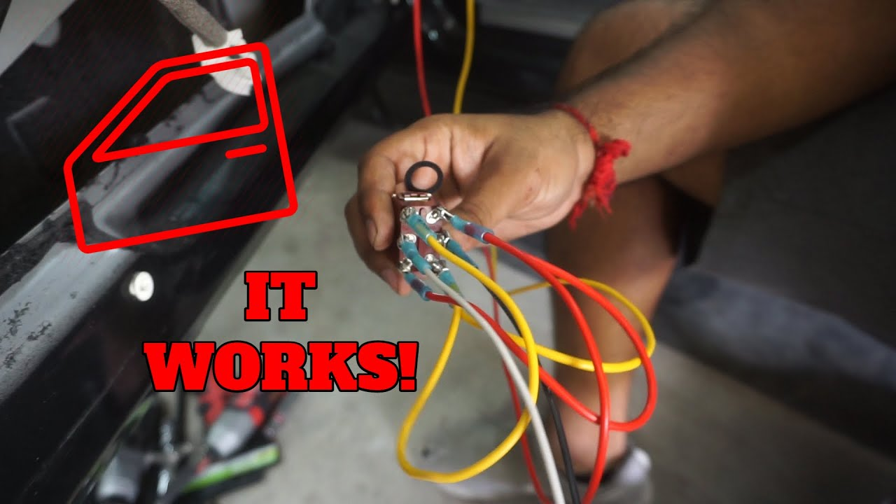 How To Wire Power Windows To A Toggle Switch Race Car MOD