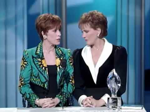 Carol Burnett and Julie Andrews present at People's Choice Award