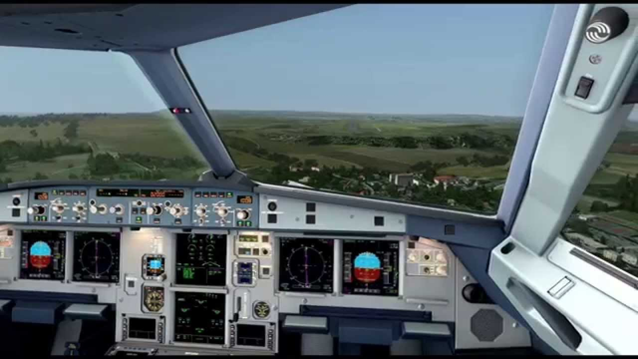 [FSX] Aerosoft Airbus A320 landing at Malta / LMML - as real as it gets [HD]