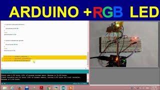 RGB colour sensor using Arduino