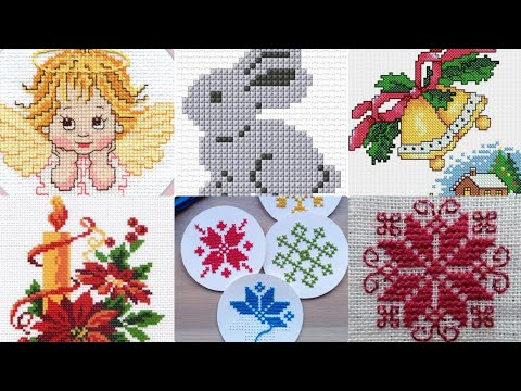 Beautiful Cross Stitch Different Patterns For You