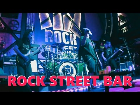 WALKING STREET live music at ROCK STREET BAR Pattaya