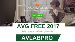 AVG FREE 2017 install and settings