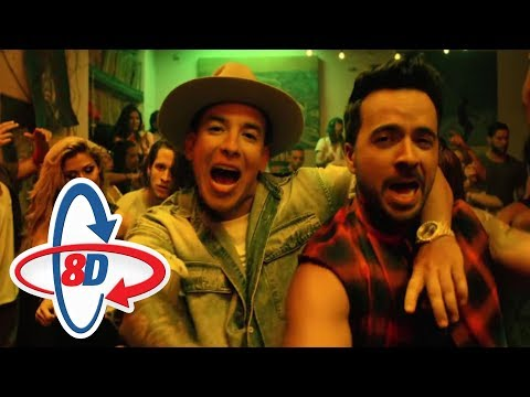 Luis Fonsi - Despacito ft. Daddy Yankee - 8D AUDIO - HIGH QUALITY