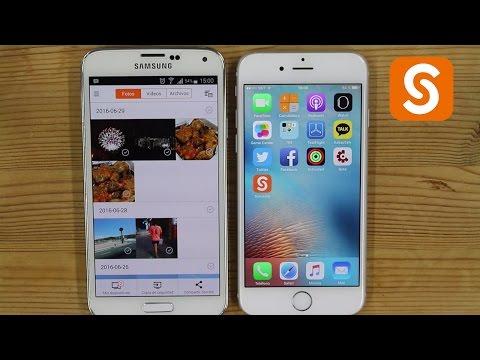 Transferir Archivos De Android A Iphone Rapidisimo