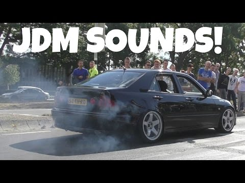 JDM Tuner Cars Leaving Meets! EPIC Sounds!