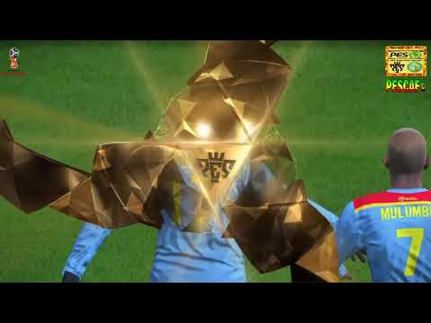 PS4 PES 2017 Gameplay RD Congo vs Guinee HD