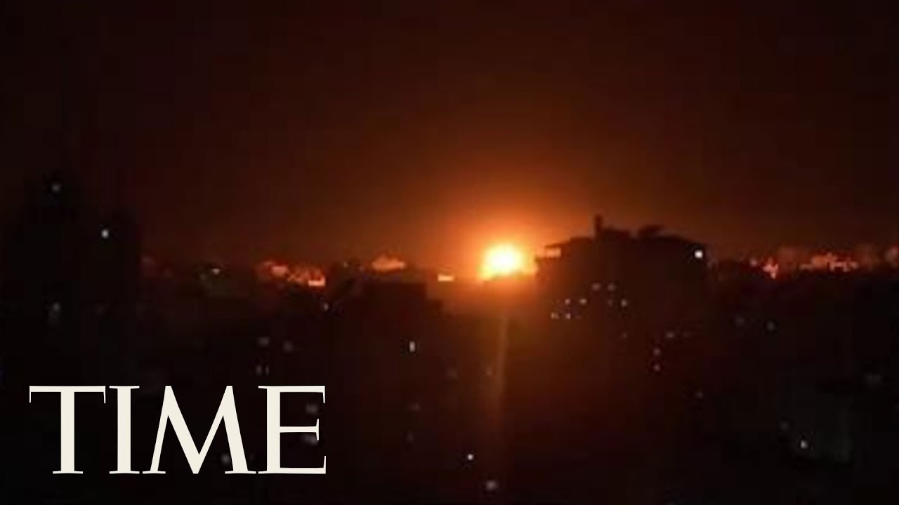Israeli Airstrikes Hit Targets Across Gaza After Rocket Attack   TIME