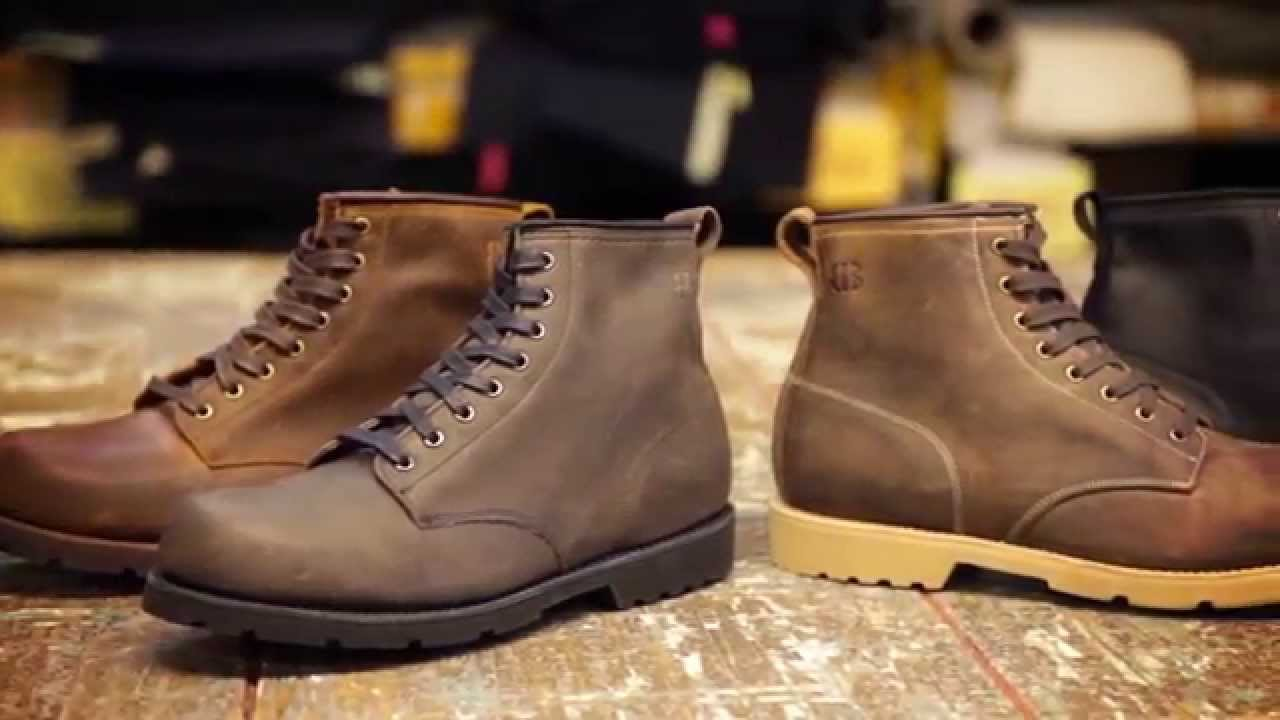 Men's Boots from Brooklyn Boot Company- Made in USA - YouTube