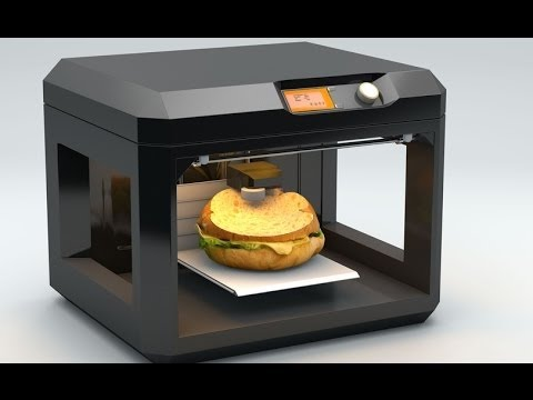 top 5 3d lebensmittel drucker futuristische k chenhelfer youtube. Black Bedroom Furniture Sets. Home Design Ideas