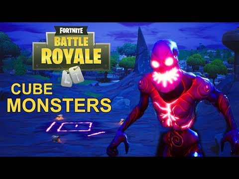 New CUBE MONSTERS - FORTNITEMARES  Gameplay In Fortnite