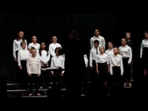 Webster Stanley Middle School 6th grade choir 2018