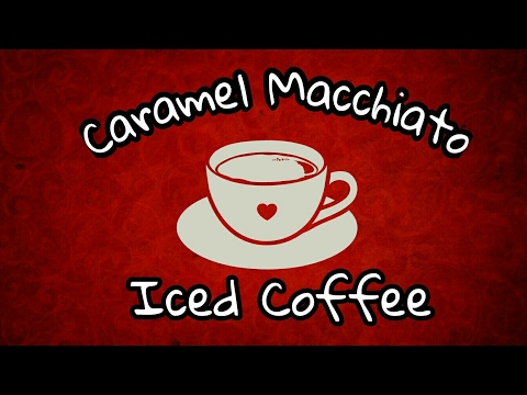 DIY Caramel🍯 Macchiato Iced Coffee☕ Mukbang ➕ Shout Out Love ➕ More 😊