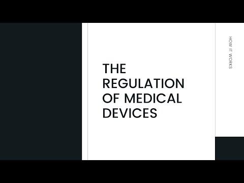 Understanding Regulation of Medical Devices