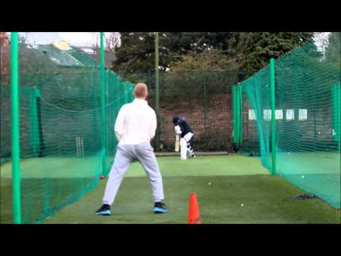 Cricket nets : All of offspin bowling in the nets