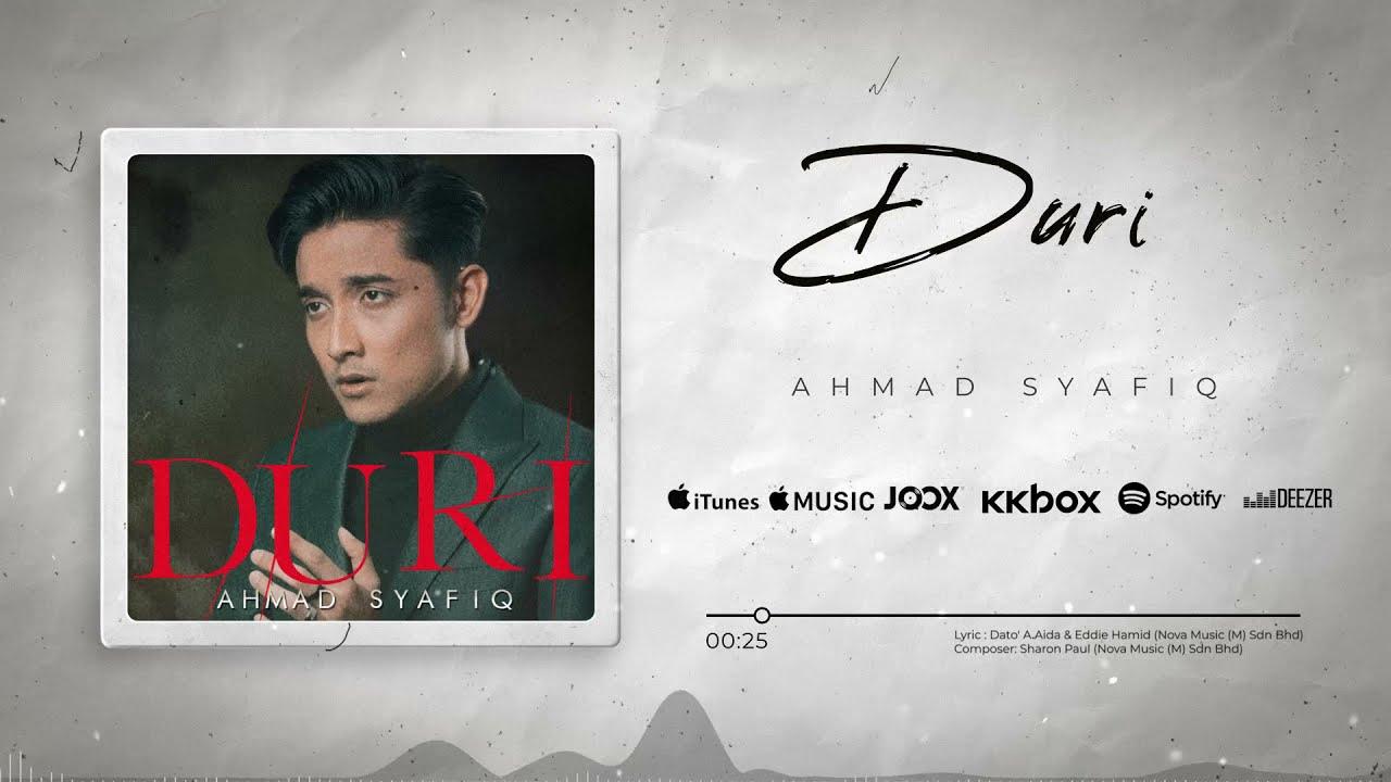 Duri - Ahmad Syafiq| Official Audio