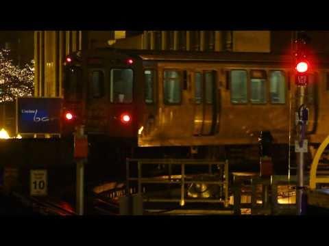 "CTA Transit: 1987 Budd Company 3100 Series ""L"" Cars Pink Line Train at State/Lake Loop Station"