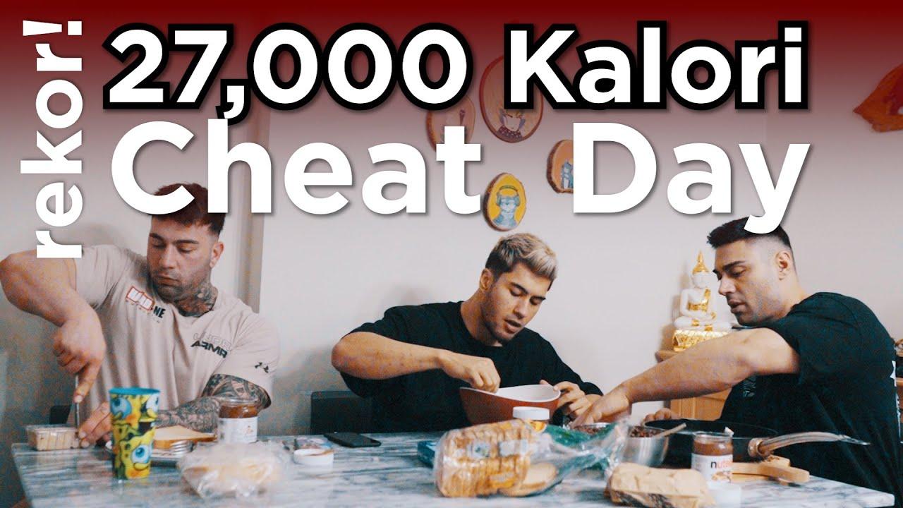 27,000 Kalori-Türkiye Rekoru Cheat Day-Araba Kazası - Project Over