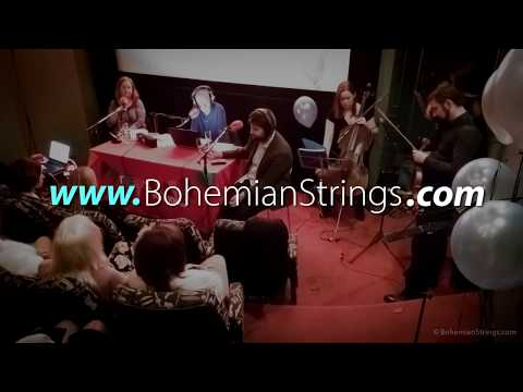 The Bohemian Strings performing live at Newstalk 106-108fm